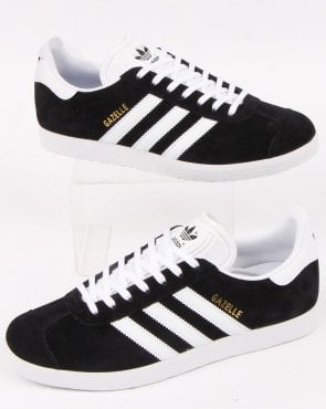 adidas Trainers Adidas Gazelle Trainers Black/White