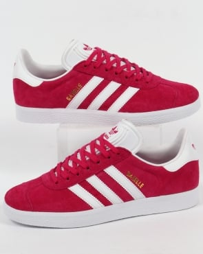 adidas Trainers Adidas Gazelle Trainers Bold Pink/White