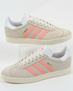 adidas Trainers Adidas Gazelle Trainers Chalk White/Light Pink