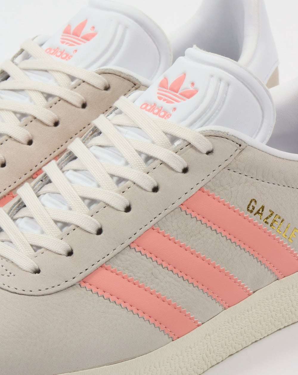 womens adidas gazelle trainers pink