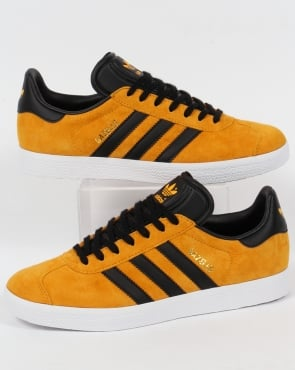 adidas Trainers Adidas Gazelle Trainers Collegiate Gold/Black