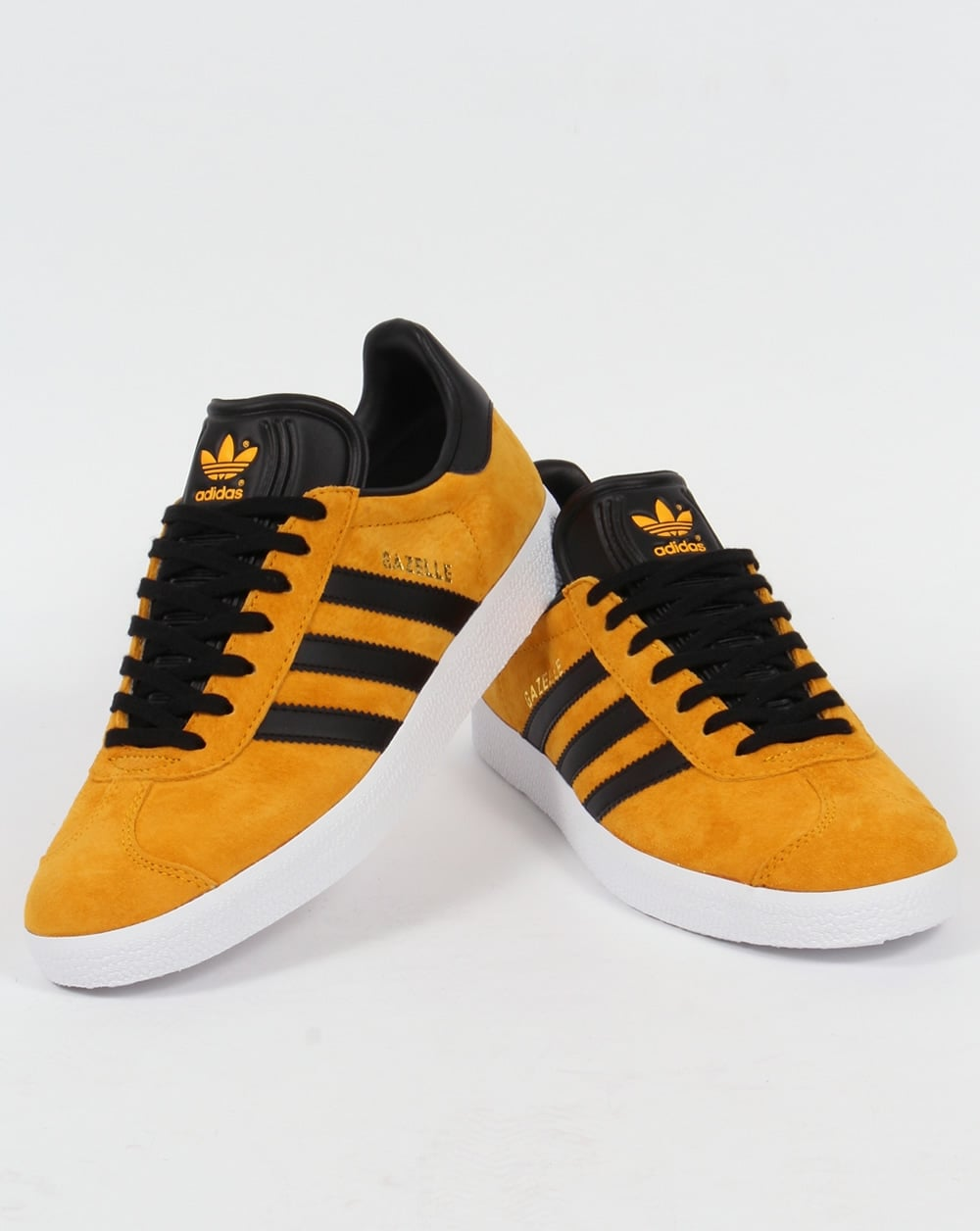 Adidas Gazelle Trainers Collegiate Gold/Black