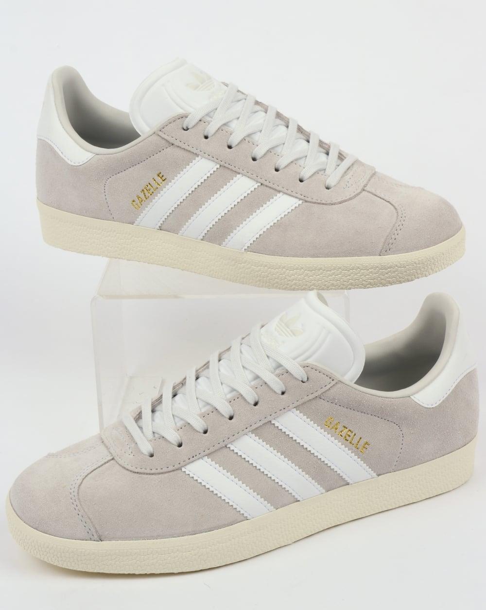 100% authentique c46e3 af35a Adidas Gazelle Trainers Crystal White