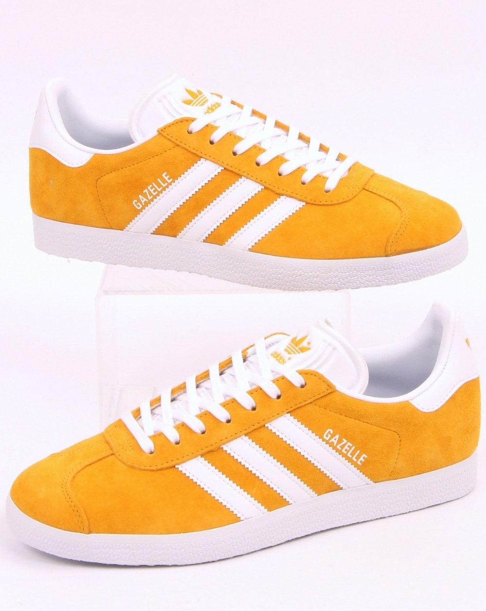Adidas Gazelle Trainers Golden Yellow