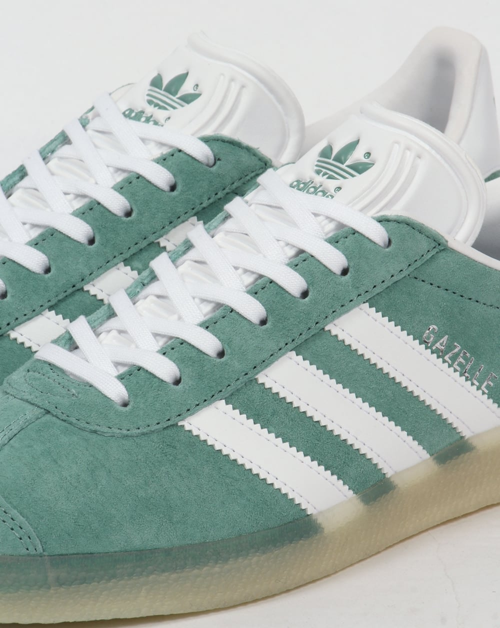 adidas gazelle white blue gum