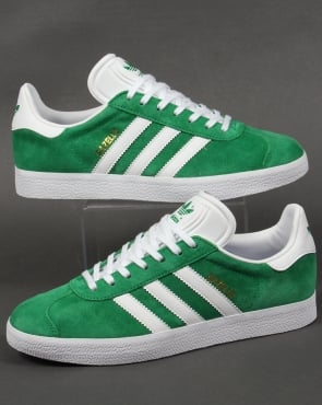 adidas Trainers Adidas Gazelle Trainers Green/White