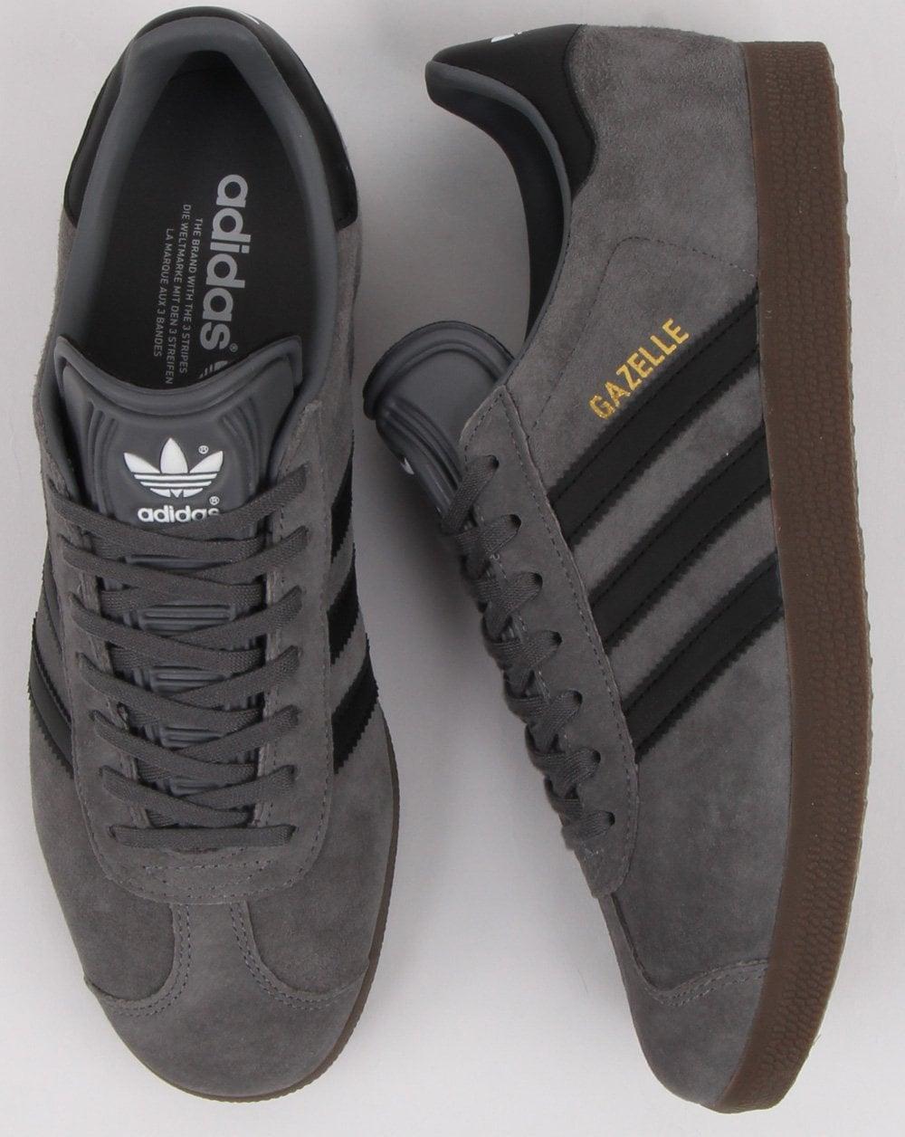 Adidas Gazelle Trainers Grey/black