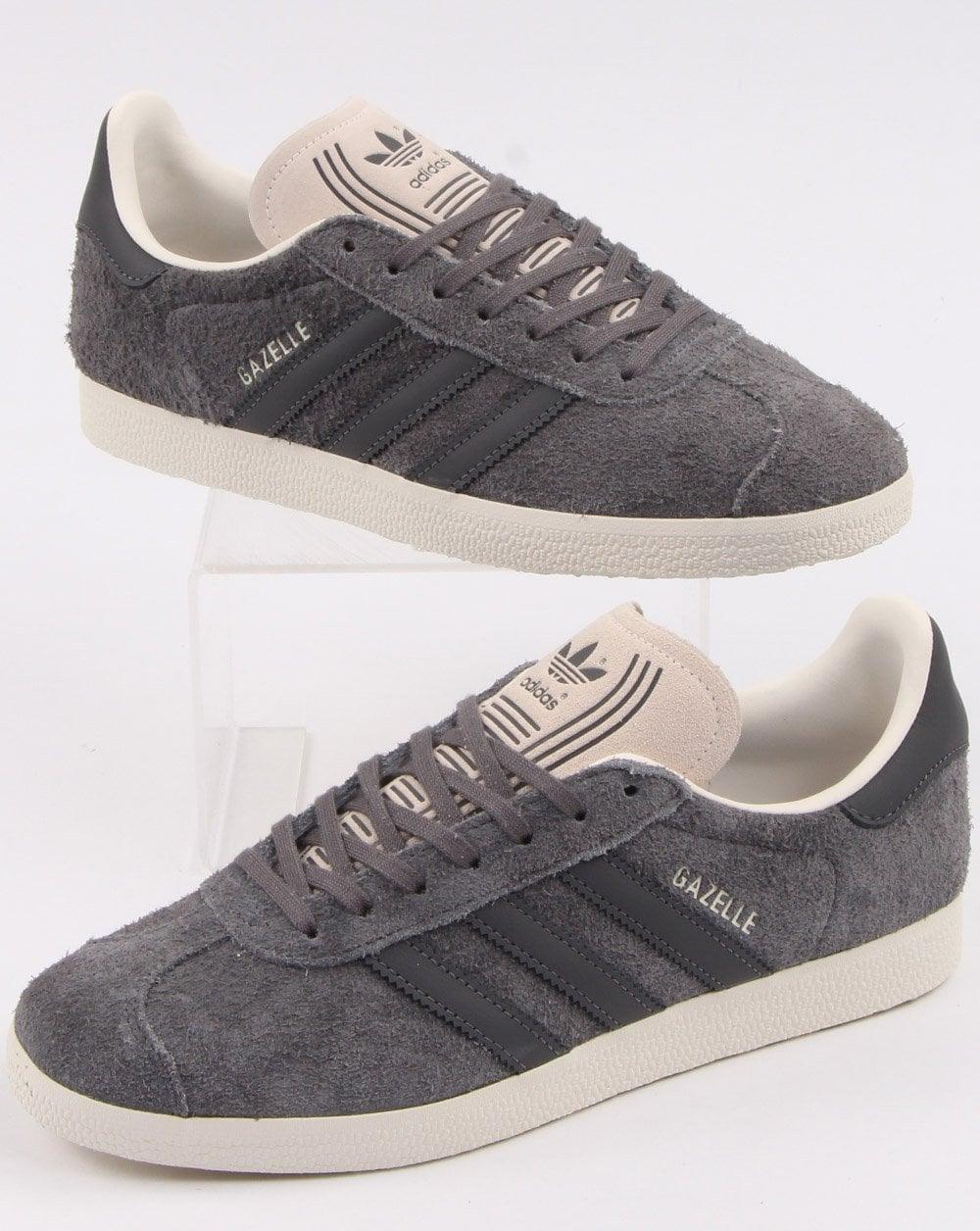 Adidas Gazelle Trainers Grey/White