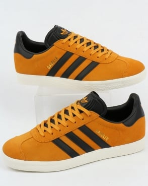 adidas Trainers Adidas Gazelle Trainers Jamaica Yellow/Black