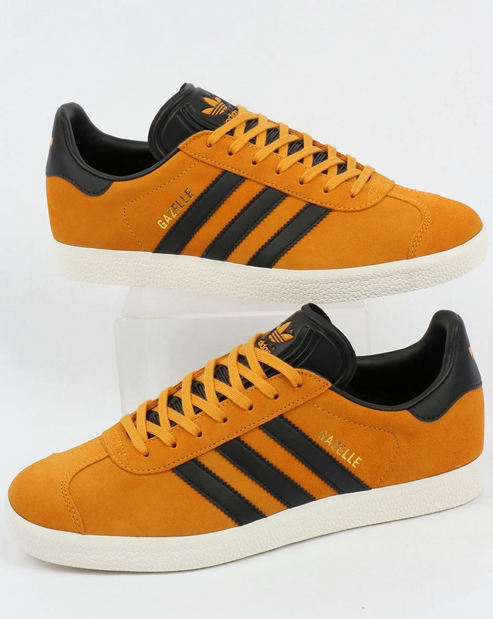 Adidas Gazelle Trainers, Jamaica,Yellow