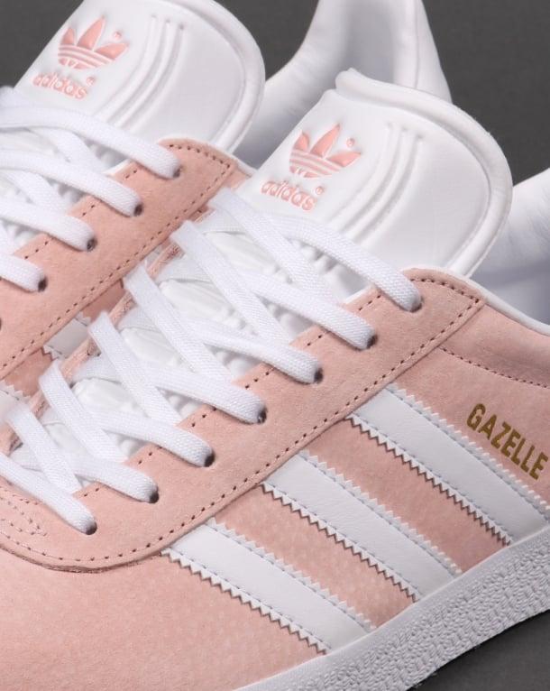Adidas Gazelle Trainers Vapour Pink White Originals Shoes