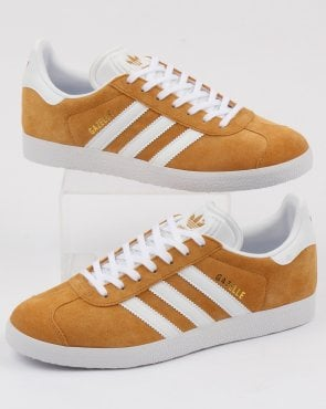 adidas Trainers Adidas Gazelle Trainers Mesa/white