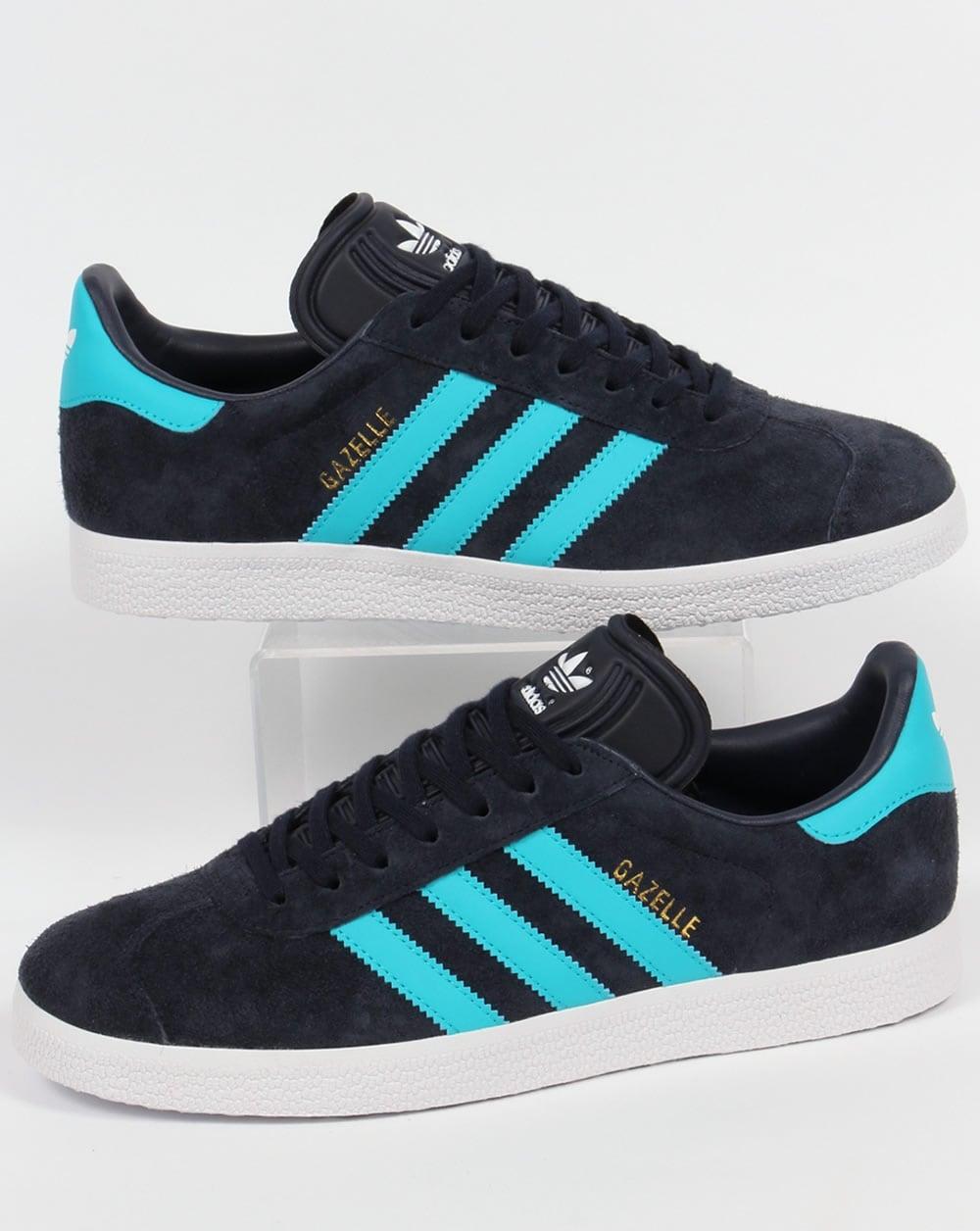Adidas Gazelle Bleu 38 Fonce Vente Jusqu A 38 Bleu De Rabais