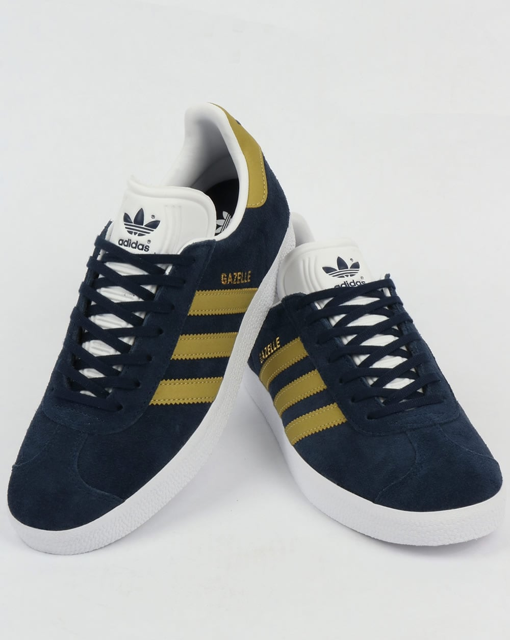 Adidas Gazelle Trainers NavyGold
