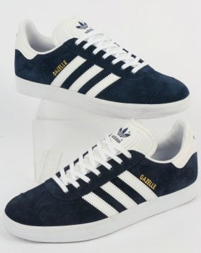 Adidas Gazelle Trainers Navy/White