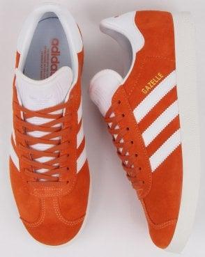 a9c57da6f adidas Trainers Adidas Gazelle Trainers Orange white
