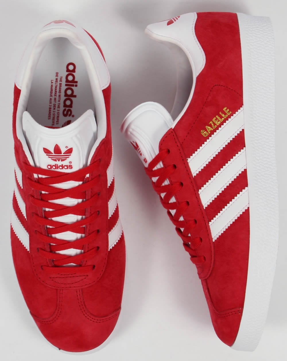 Adidas Gazelle Mens Red
