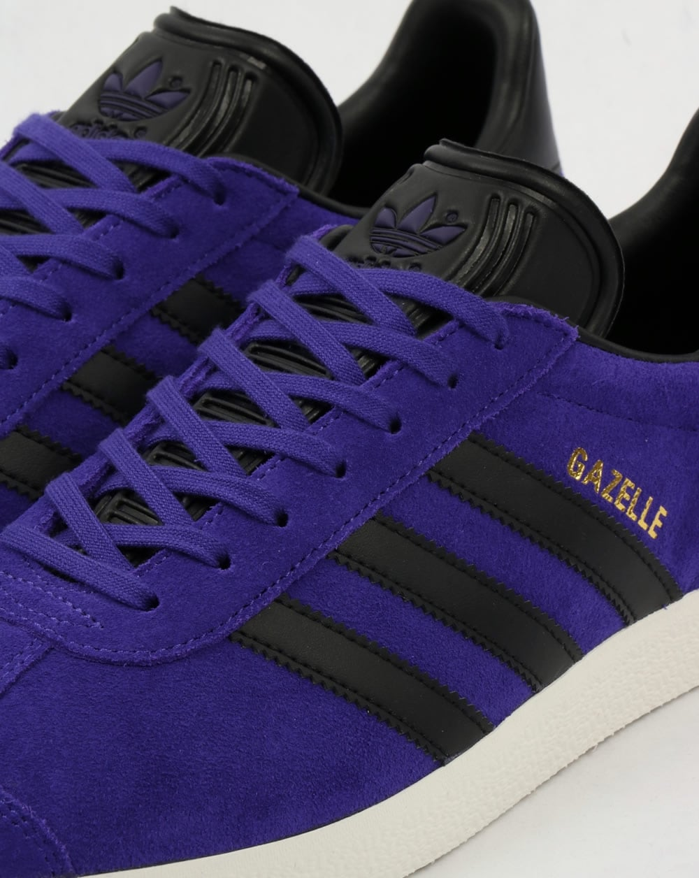 Adidas Gazelle Trainers Purple/Black