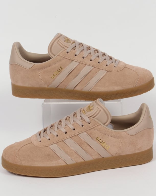 Adidas Gazelle Trainers Rich Sand Gum