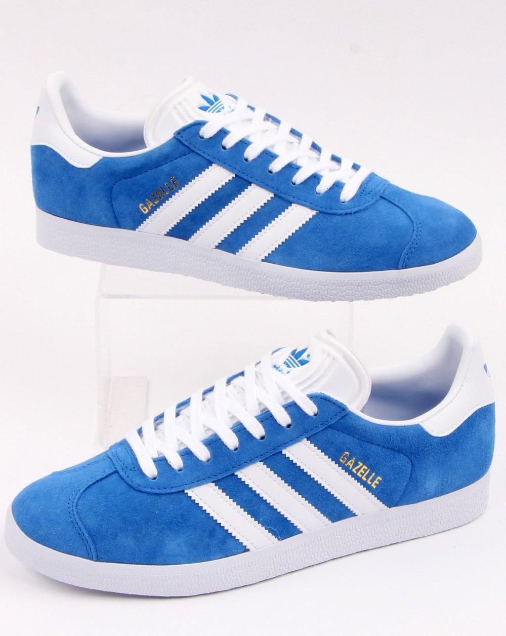 Escribe un reporte Previsión champú  Adidas Gazelle Trainers Blue/White - adidas At 80s Casual Classics