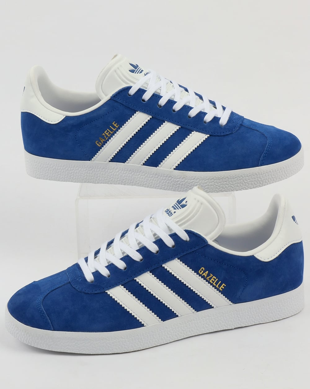 Adidas Gazelle Trainers Royal BlueWhite