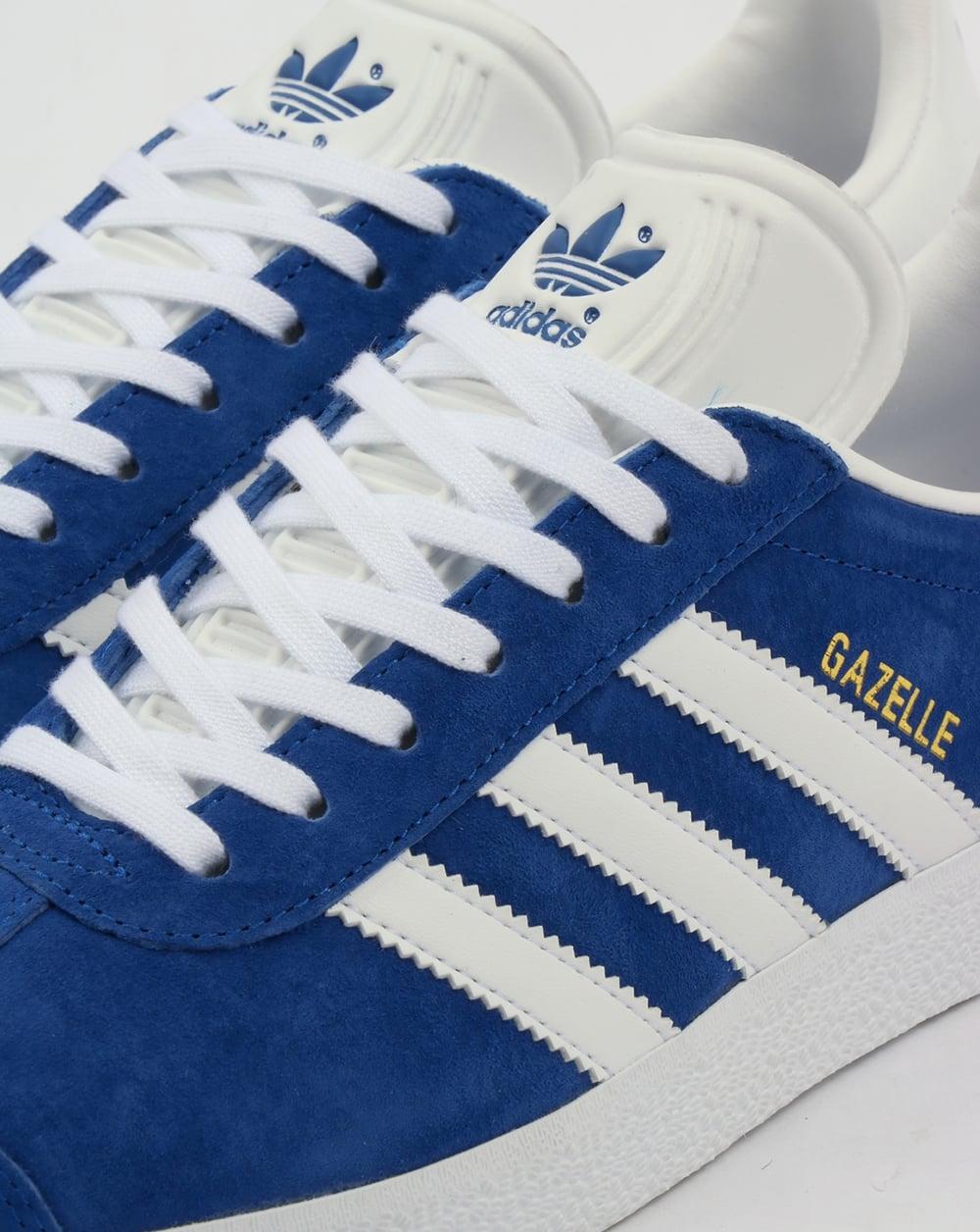 adidas Gazelle Mens Shoes Blue White
