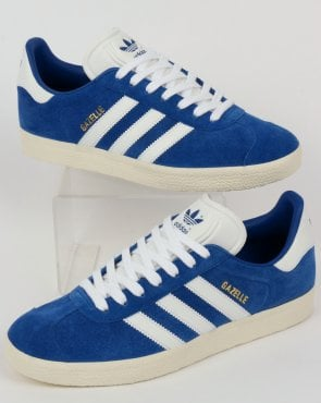 adidas Trainers Adidas Gazelle Trainers Royal/White Vintage