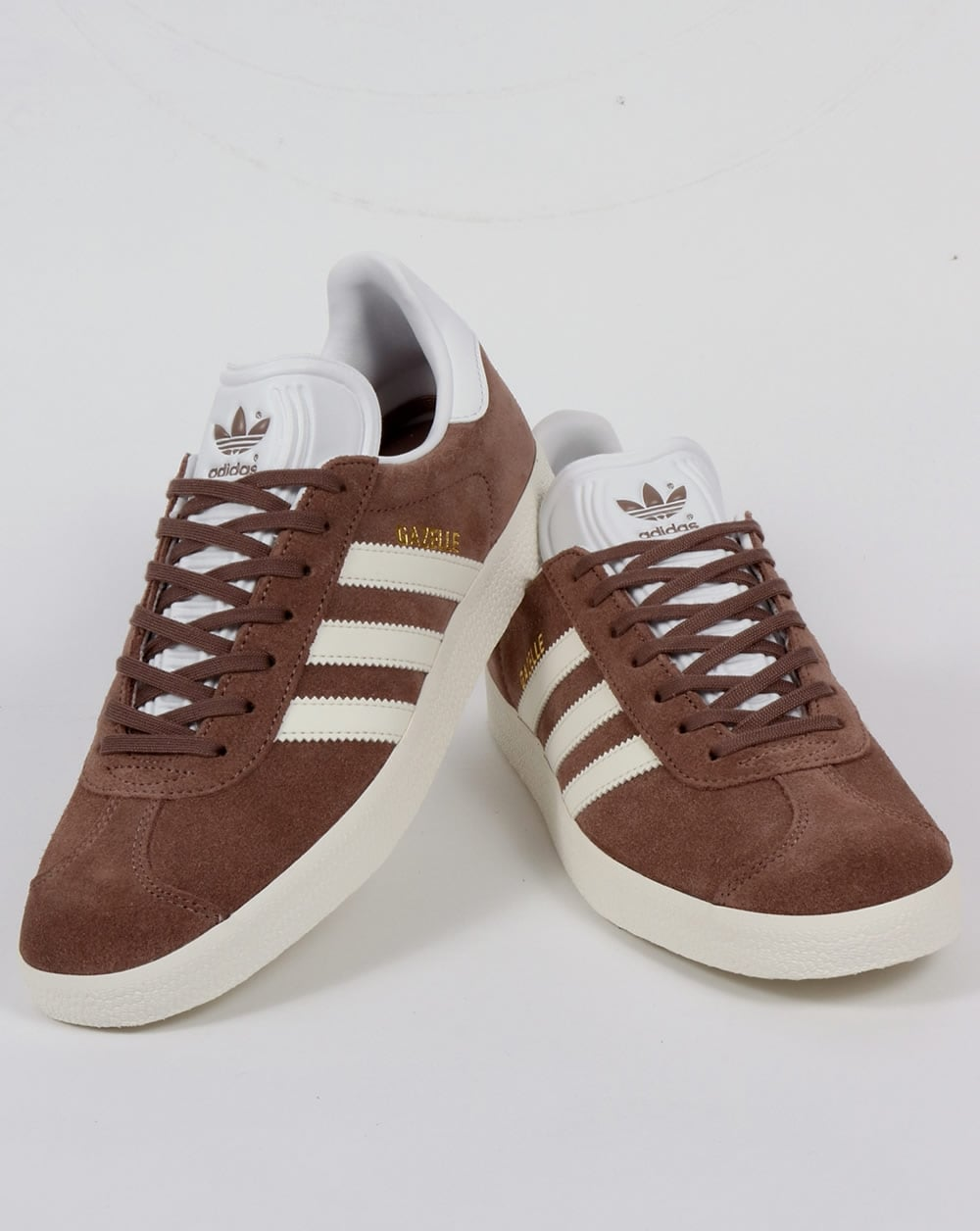 adidas Gazelle Trainers Trace Brown
