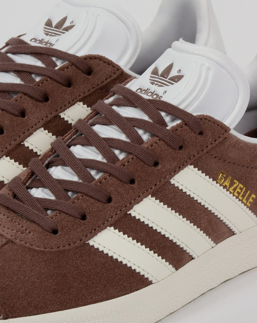 adidas gazelles mens brown