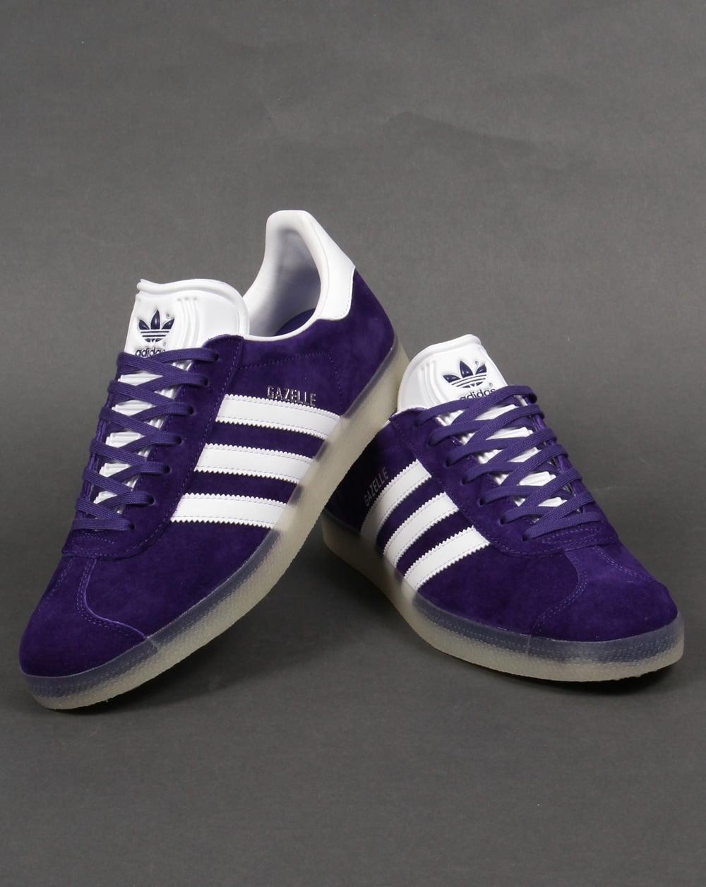 Adidas Gazelle Trainers Solid Grey Red Originals Shoes: Adidas Gazelle, Classic, Trainers, Footwear, Originals