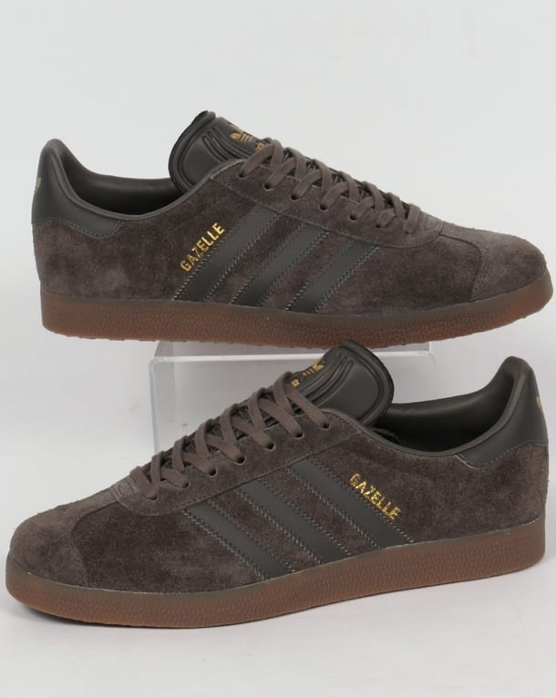 Adidas Gazelle Trainers Utility Grey/Gum