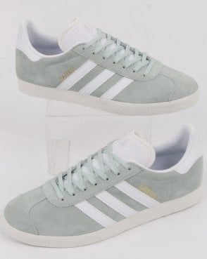 adidas Trainers Adidas Gazelle Trainers Vapour Green/white