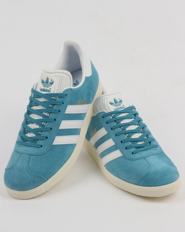 Adidas Gazelle Trainers Tactile SteelWhite,blue,originals