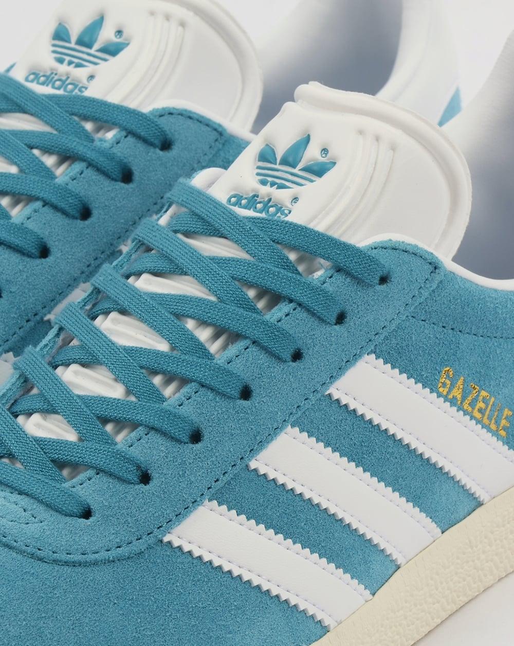 Adidas Gazelle Trainers Tactile Steel/White,blue,originals ... Caterpillar Shoes