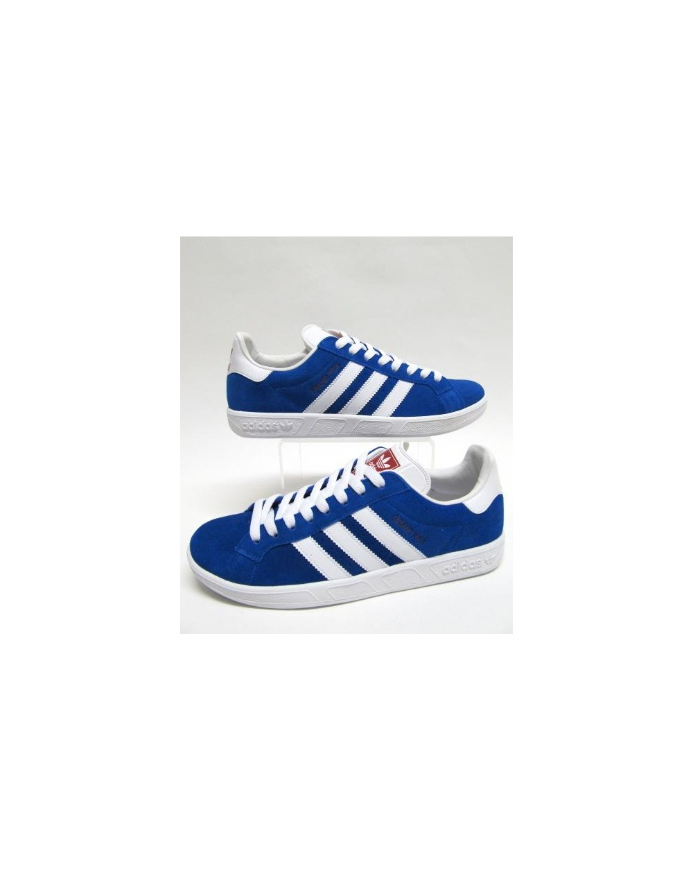 adidas grand prix trainers royal blue white originals. Black Bedroom Furniture Sets. Home Design Ideas