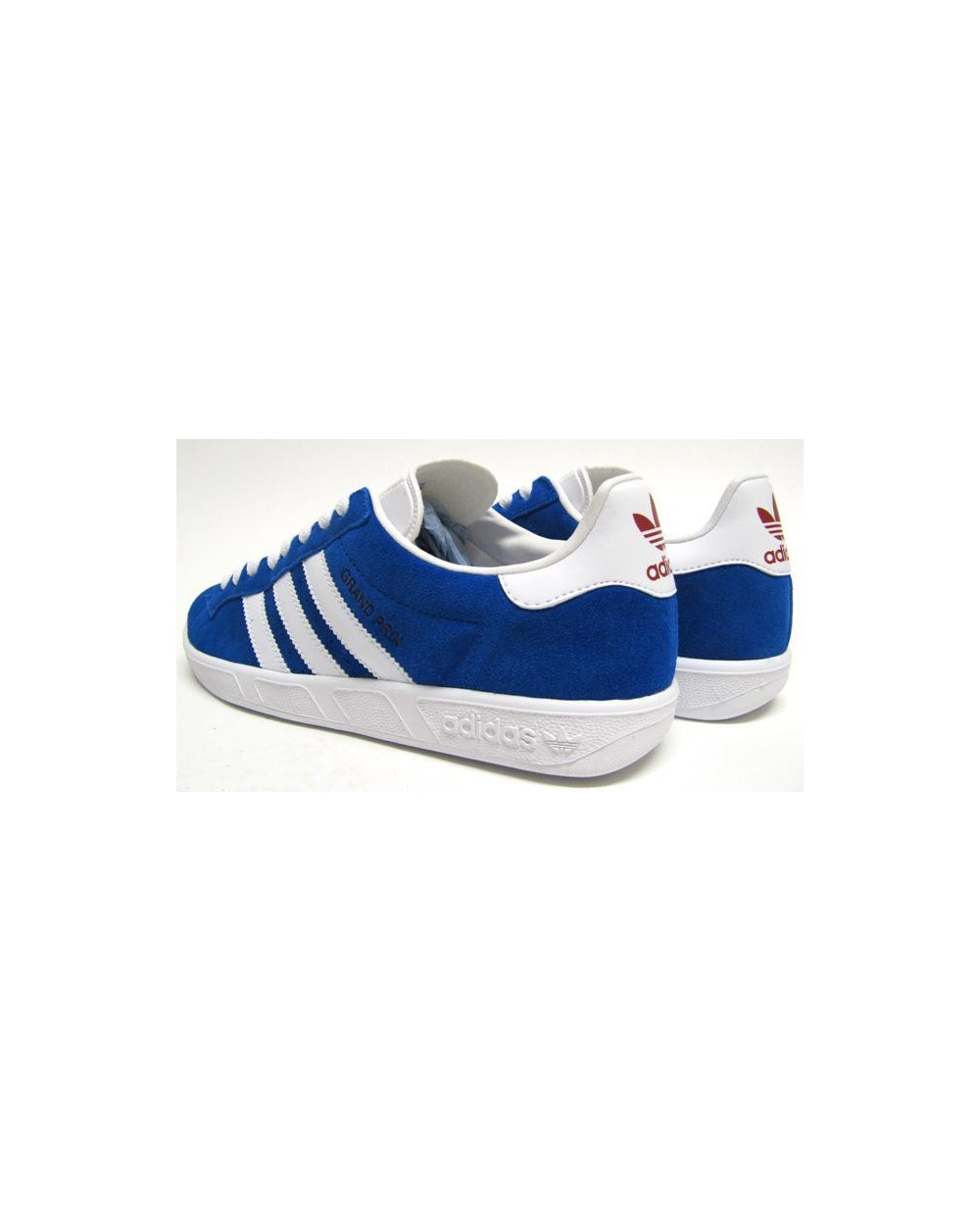 Adidas Grand Prix Trainers Royal Blue White Originals