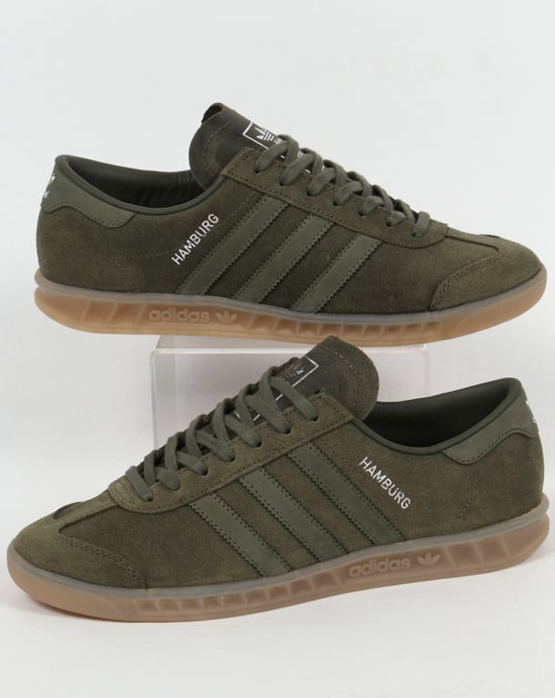 Adidas Hamburg Trainers Base Green