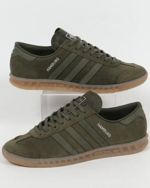 adidas Trainers Adidas Hamburg Trainers Base Green