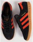 Adidas Hamburg Trainers Black/Orange