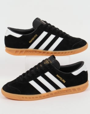 adidas Trainers Adidas Hamburg Trainers Black/White/Gum