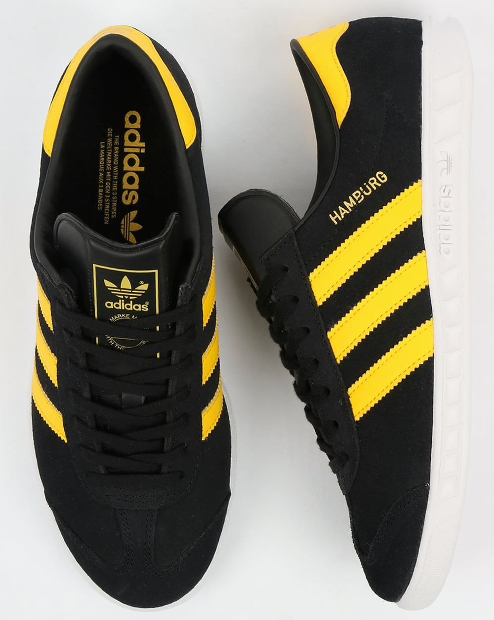 adidas hamburg black and yellow