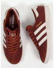 Adidas Hamburg Trainers Brown/cream leather