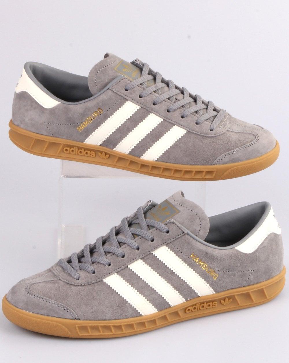 Adidas Hamburg Trainers Grey/Off White