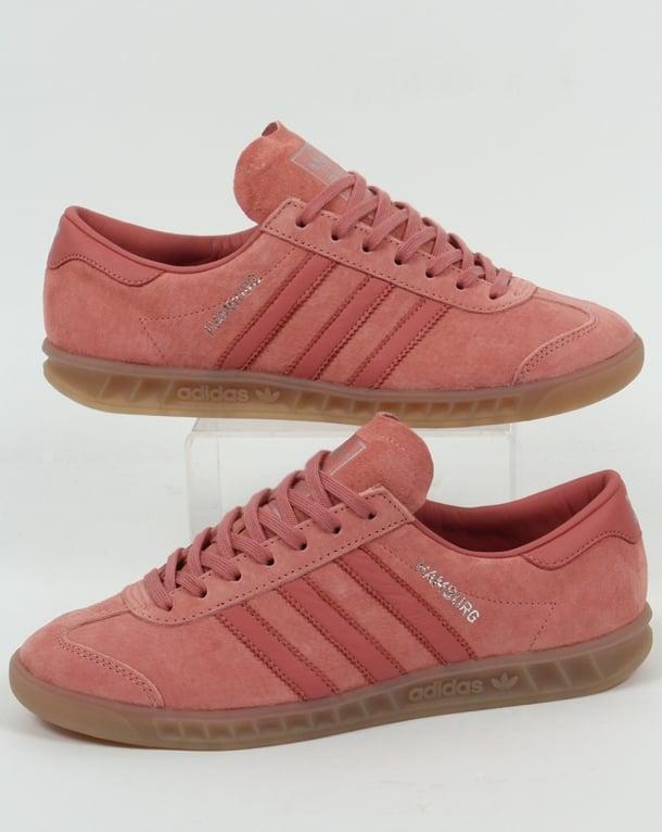 Adidas Hamburg Trainers Pink Chalk