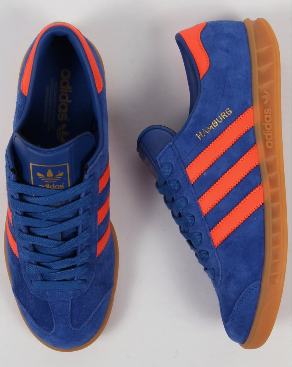 Adidas Originals Orange And Blue