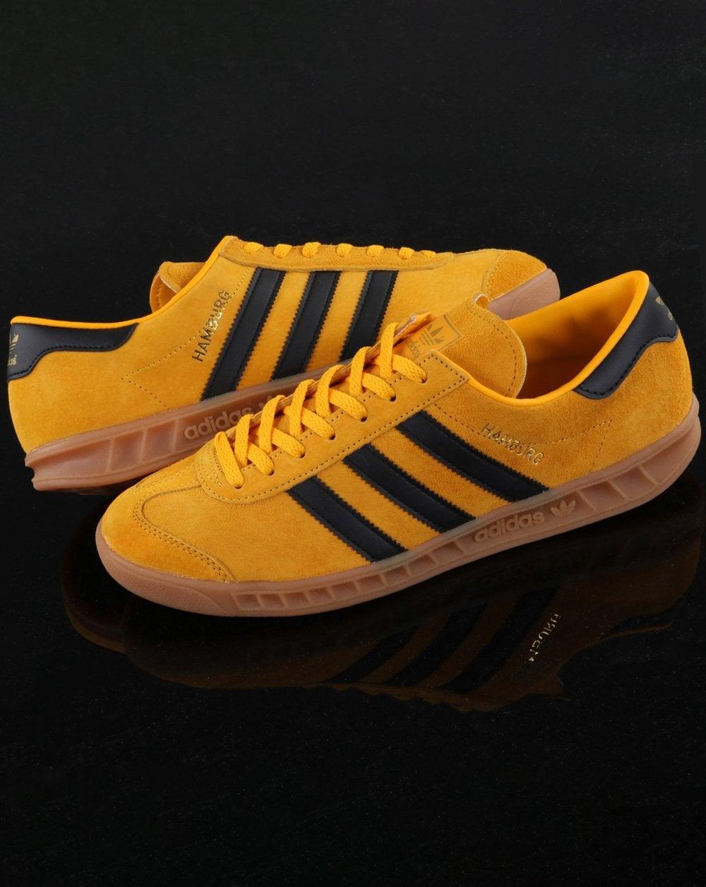 Adidas Hamburg Trainers Yellow/Black