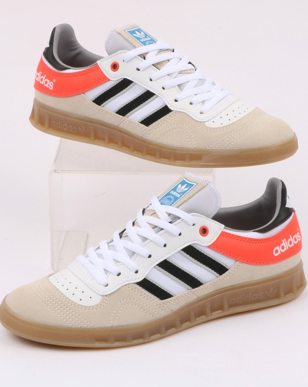 promo code 06a2c d99bf adidas Trainers Adidas Handball Top Trainers White Black Solar Red