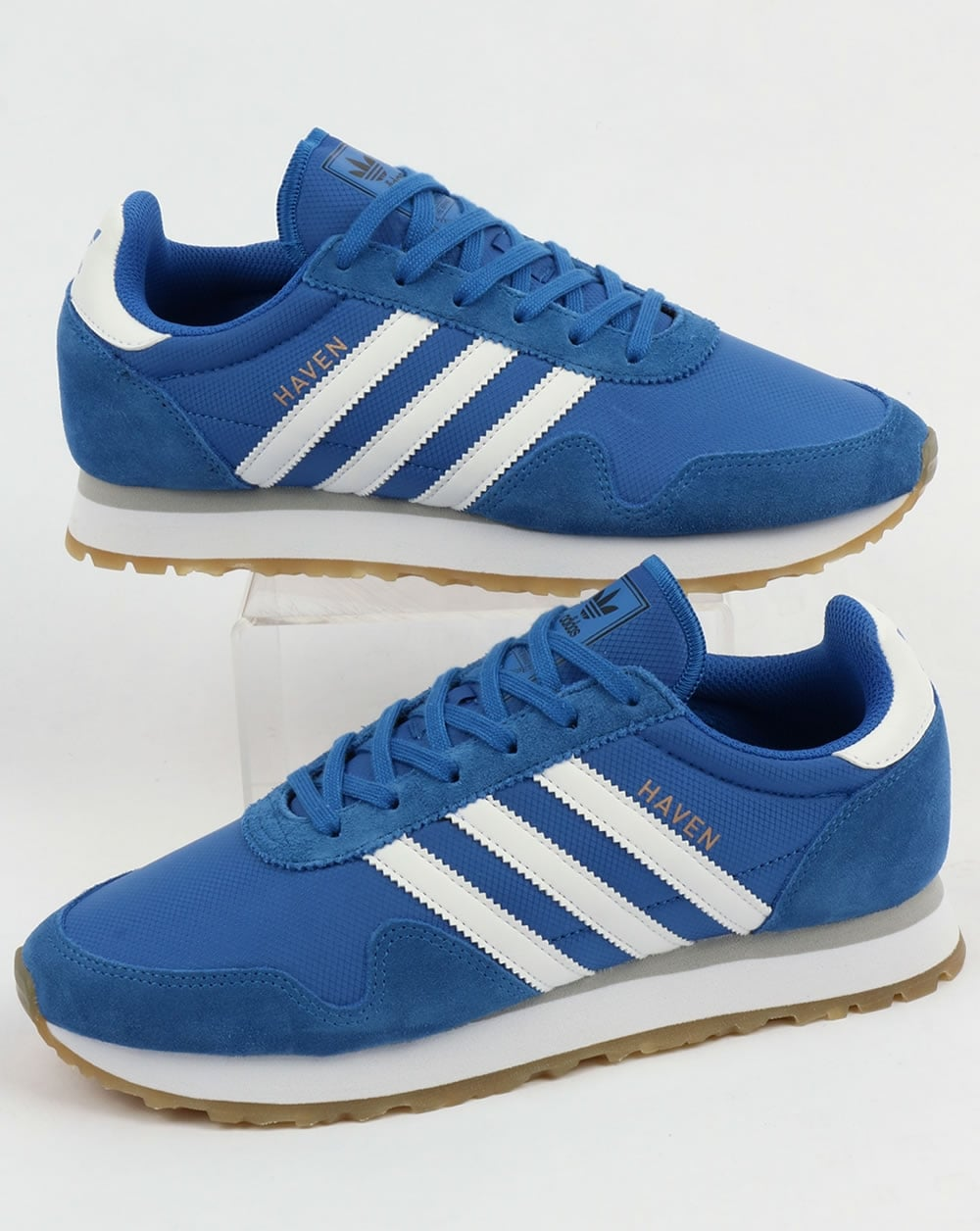 adidas Trainers Adidas Haven Trainers Blue White Gum 68d0cc36d