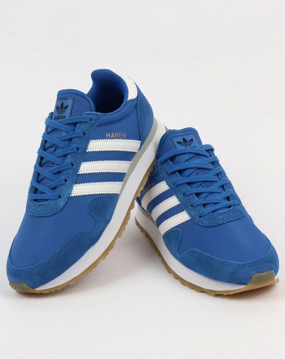 Adidas Originals Haven Trainers Blue White Gum fc3a7d6cb