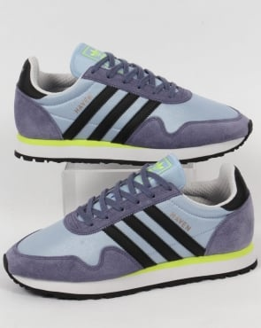 Adidas Haven Trainers Easy Blue/black/yellow